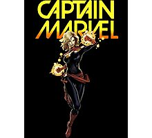 Captain Marvel Photographic Print