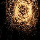 Fiery night by Melissa James