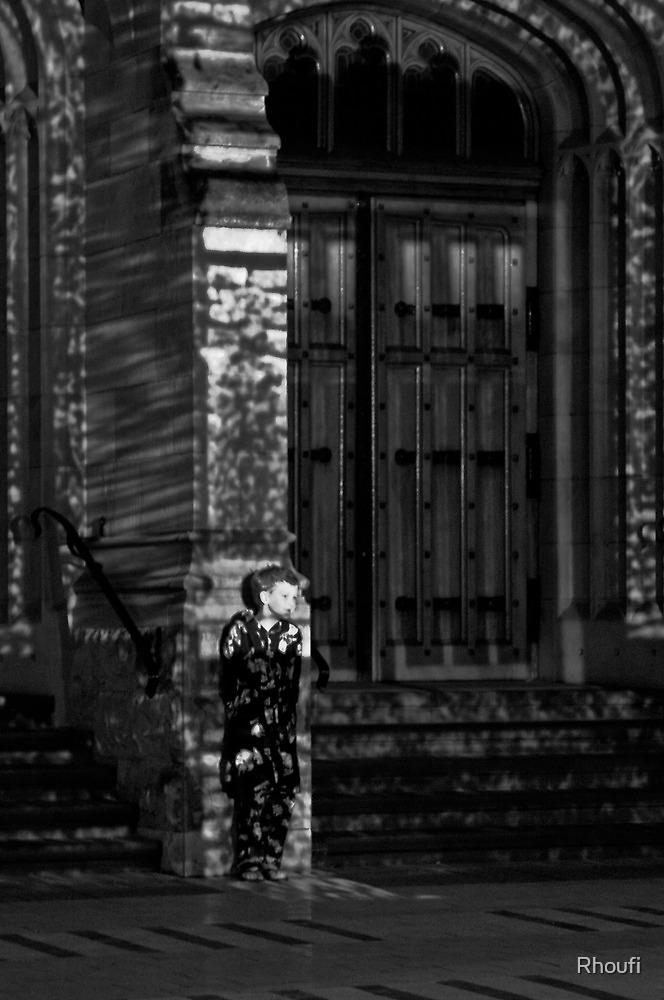 Hiding in the light by Rhoufi