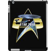 StarTrek Enterprise D Com badge iPad Case/Skin