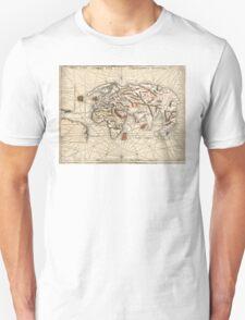 1513 World map by Martin Waldseemüller T-Shirt