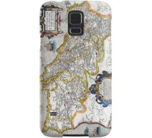 1560 Map of Portugal by Ortelius Samsung Galaxy Case/Skin