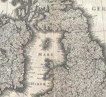 1631 Map of the British Isles by Joan Blaeu Sticker