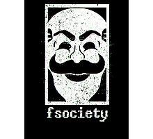 F Society (Mr. Robot) Photographic Print