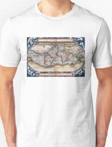 1564 World Map by Ortelius T-Shirt