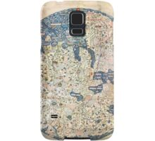 1458 World Map by Fra Mauro Samsung Galaxy Case/Skin