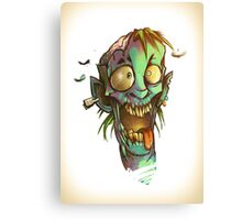The crazy one - Zombie Punk! Collection Canvas Print