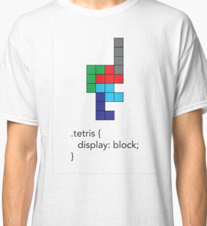 Tetris - Geek Chic Classic T-Shirt