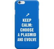Bioshock - Keep calm: choose a plasmid and evolve iPhone Case/Skin