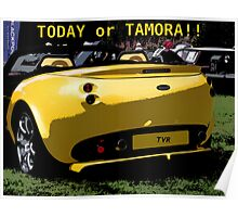 Comic Strip TVR Poster