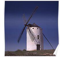 Windmill - Molino de Viento (Campo de Criptana) Poster