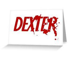 Dexter logo Greeting Card