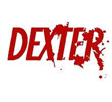 Dexter logo Photographic Print