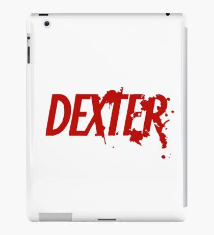 Dexter logo iPad Case/Skin