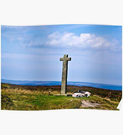 Ralphs Cross - North Yorks Moors Poster