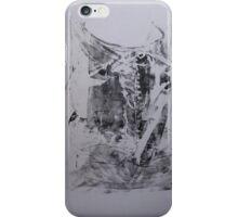 Poumons de Soie #4 -  Silk lungs - Monotype Empreinte iPhone Case/Skin
