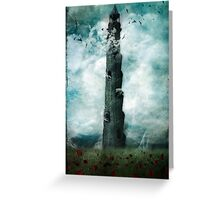 The Dark Tower Greeting Card
