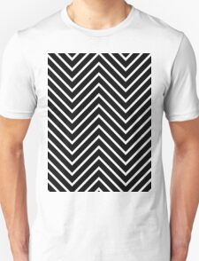 Black Yellow Chevron T-Shirt