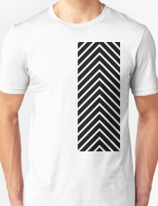 Black Pink Chevron T-Shirt