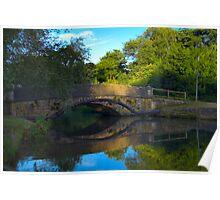 Bridge over River Itchen Poster