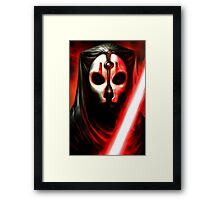 Darth Nihilus - KOTOR 2 - STAR WARS - Knights of the Old Republic 2 Framed Print