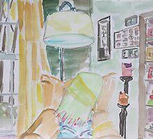 Reading corner by Juliane Porter