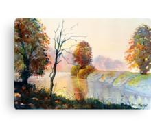 Autumn on the Ouse Canvas Print