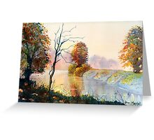 Autumn on the Ouse Greeting Card