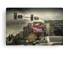 City Life - Crossroads Mystic Canvas Print