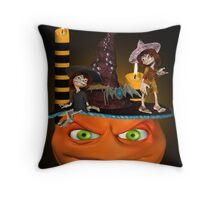 Halloween Madness Throw Pillow