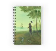 The Discontented Shore Spiral Notebook