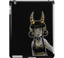Garnished in gold iPad Case/Skin