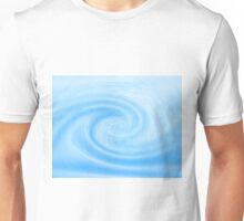 Blue Wave - Color Background of Fresh Beauty Unisex T-Shirt