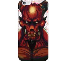 DOOM BARON OF HELL V1 iPhone Case/Skin