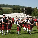 Pipe Band by Robert Abraham