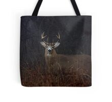 Morning Buck - White-tailed Deer Tote Bag