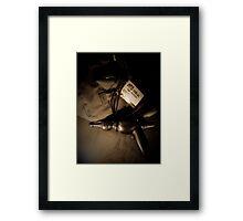 Time Travelers Bag 01 Framed Print