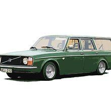 Volvo 245 by kattskit