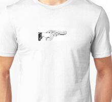 Hand Gun Unisex T-Shirt
