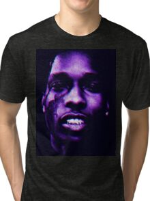 A$AP ROCKY - ALLA  Tri-blend T-Shirt