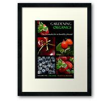 Book Cover: Organic Gardening Framed Print