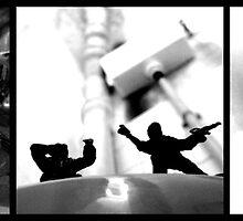 Bathroom Soldiers 2 by Ognjen Stevanović