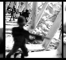 Terrace Soldiers 2 by Ognjen Stevanović