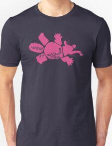 Anatomy of an Imaginary Friend (Pink) Unisex T-Shirt