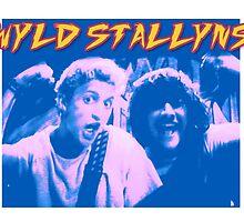 Wyld Stallyns by gorillaprutt