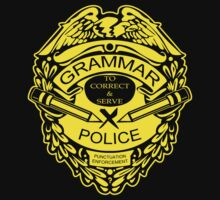 Grammar Police Funny T-Shirt & Hoodies by Robbiemartin