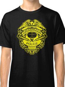 Grammar Police Funny T-Shirt & Hoodies Classic T-Shirt