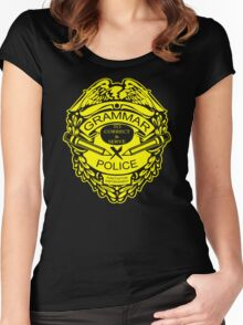 Grammar Police Funny T-Shirt & Hoodies Women's Fitted Scoop T-Shirt
