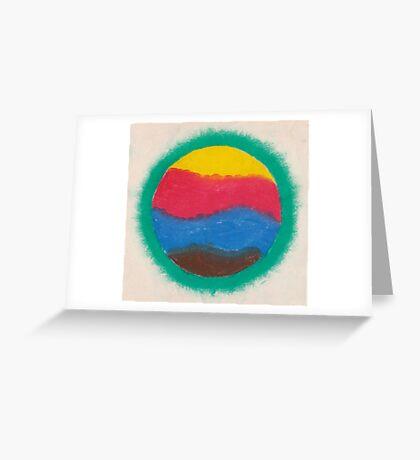 Furry Star Greeting Card