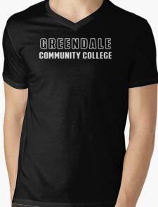 Greendale Community Funny T-Shirt & Hoodies Mens V-Neck T-Shirt